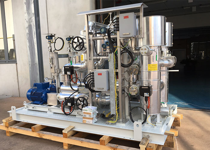 Liquid Fuel Pump Skid