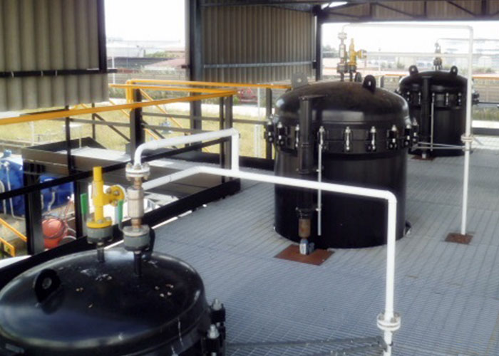 Jet Fuel Microfiltration Skid