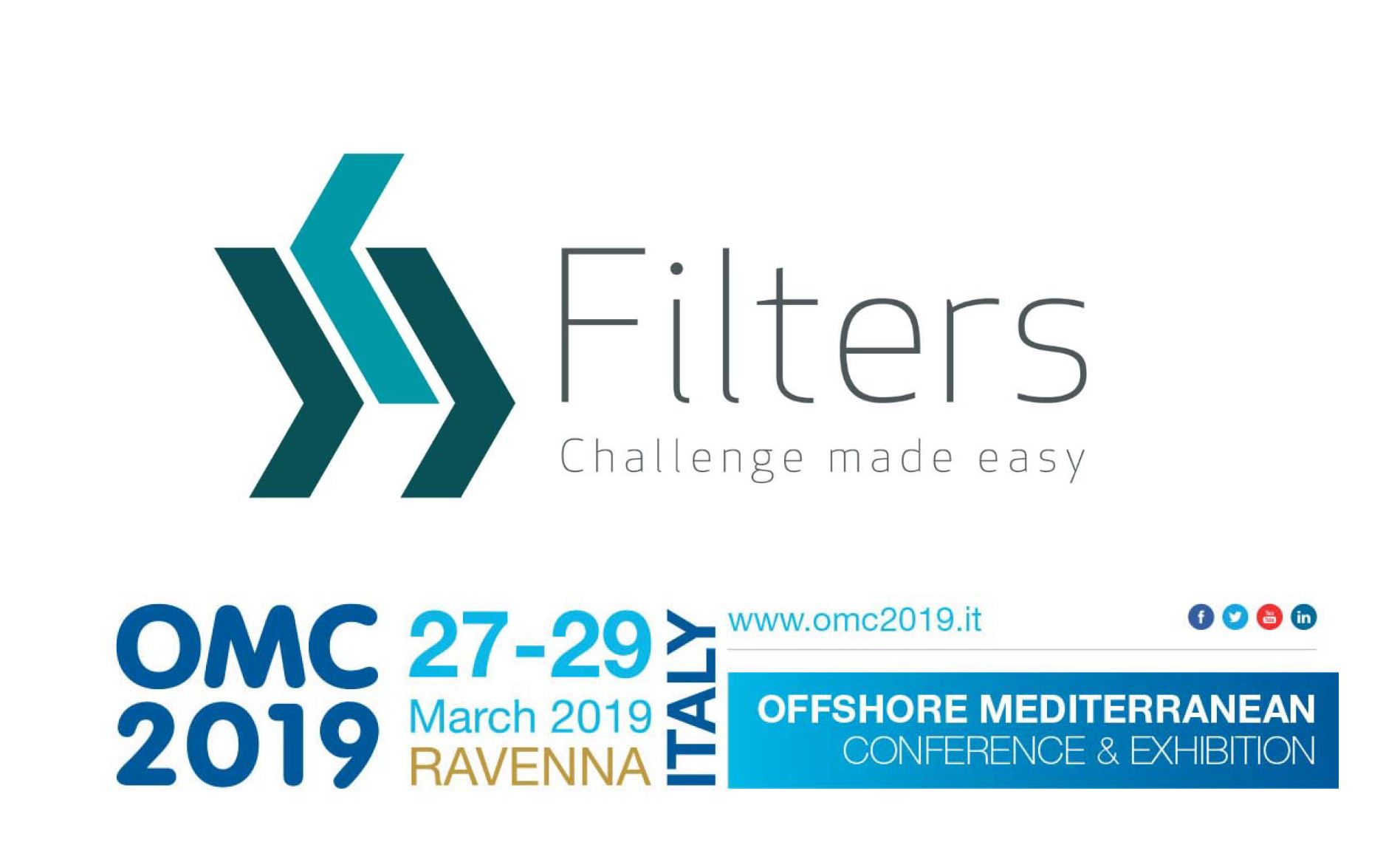 Filters® S.p.A. at Offshore Mediterranean Conference & Exhibition, OMC 2019