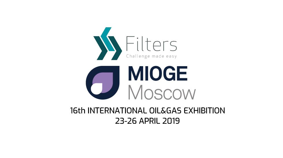Filters® S.p.A. at Moscow International Oil & Gas Exhibition, MIOGE 2019