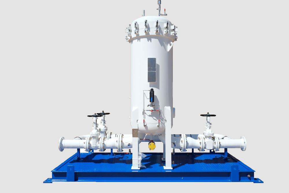 Jet Fuel Microfiltration Skid